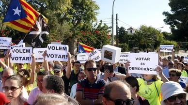 Acto institucional de la Diada en Tarragona.