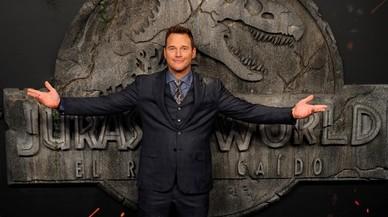 'Jurassic World 2': Chris Pratt, el buen humor como arma de seducción