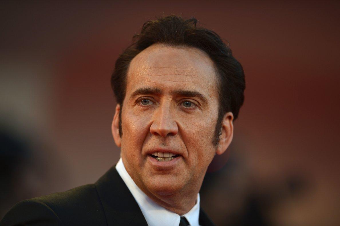 El actor Nicolas Cage.