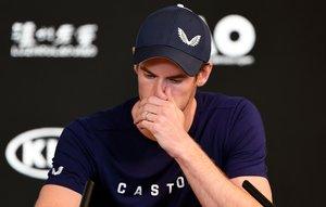 Murray reveló entre lágrimas que su problema de cadera sigue siendo no muy bueno.