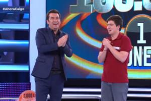 Una serie que emite Atresmedia hace ganar a un joven los 100.000 euros de 'Ahora Caigo'
