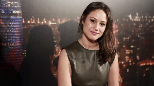 Aida Folch, una de las actrices de la serie Cites (TV-3).