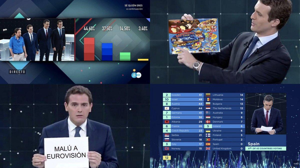 Algunos de los mejores memes del debate a cuatro organizado por RTVE.