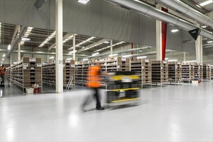 AMAZON Nuevas instalaciones de la multinacional en Castellbisbal.