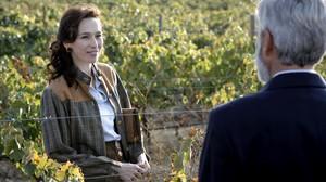 Ariadna Gil, en la serie de TVE Cuéntame....