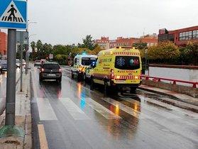 Atropellen una dona que portava el cotxet del seu bebè a Madrid