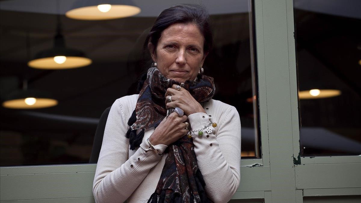 La autora argentina Claudia Piñeiro, en Barcelona, en el 2012.