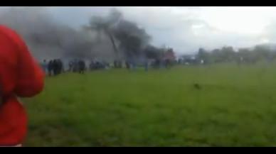 Mueren los 257 ocupantes de un avión militar estrellado en Argelia