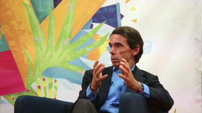 Aznar dice que ha habido un golpe de estado que no ha sido desarticulado