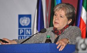 Alicia Bárcena,secretaria ejecutiva de la Comisión Económica para América Latina y el Caribe (Cepal).