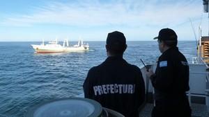 El barco español Playa Pesmar Uno retenido en Argentina por pesca ilegal.