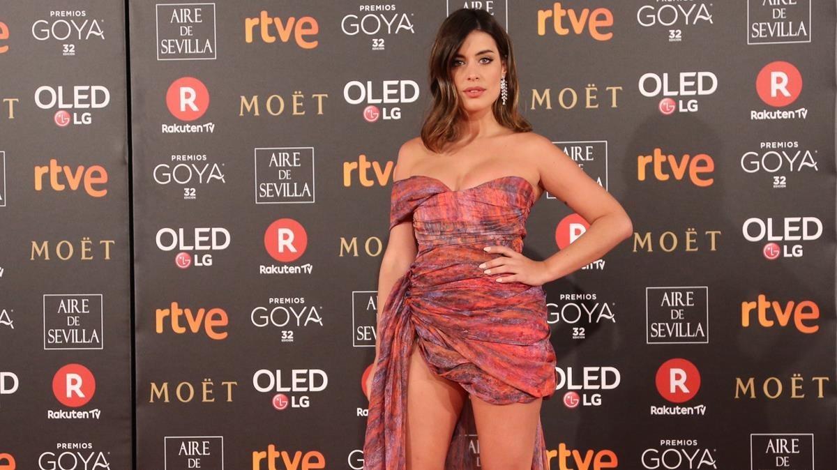 Premios Goya 2018. La bloguera Dulceida.