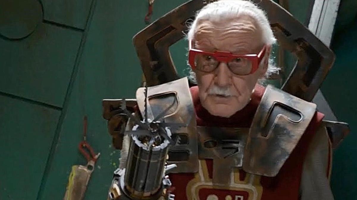 Cameo de Stan Lee en la película 'Thor Ragnarok'.