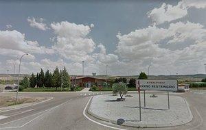 Imagen del exterior de la cárcel de Aranjuez.