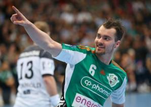 Casper Mortensen, con la camiseta del Hannover