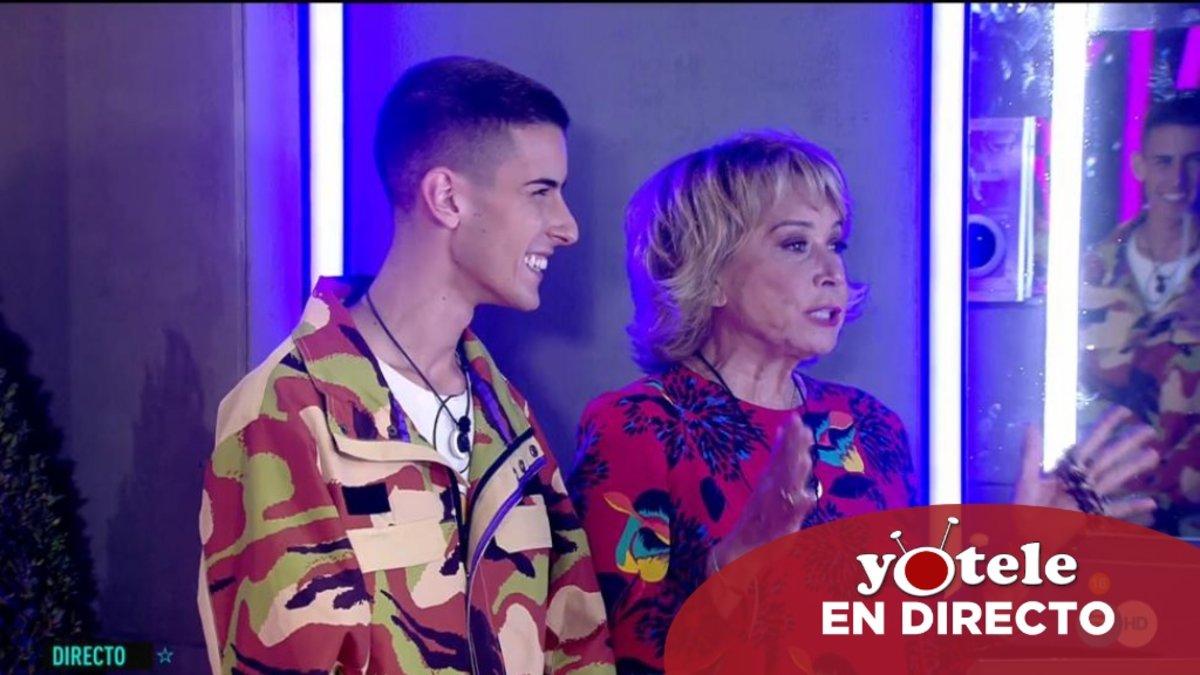 El Cejas y Mila Ximénez en 'GH VIP 7'.