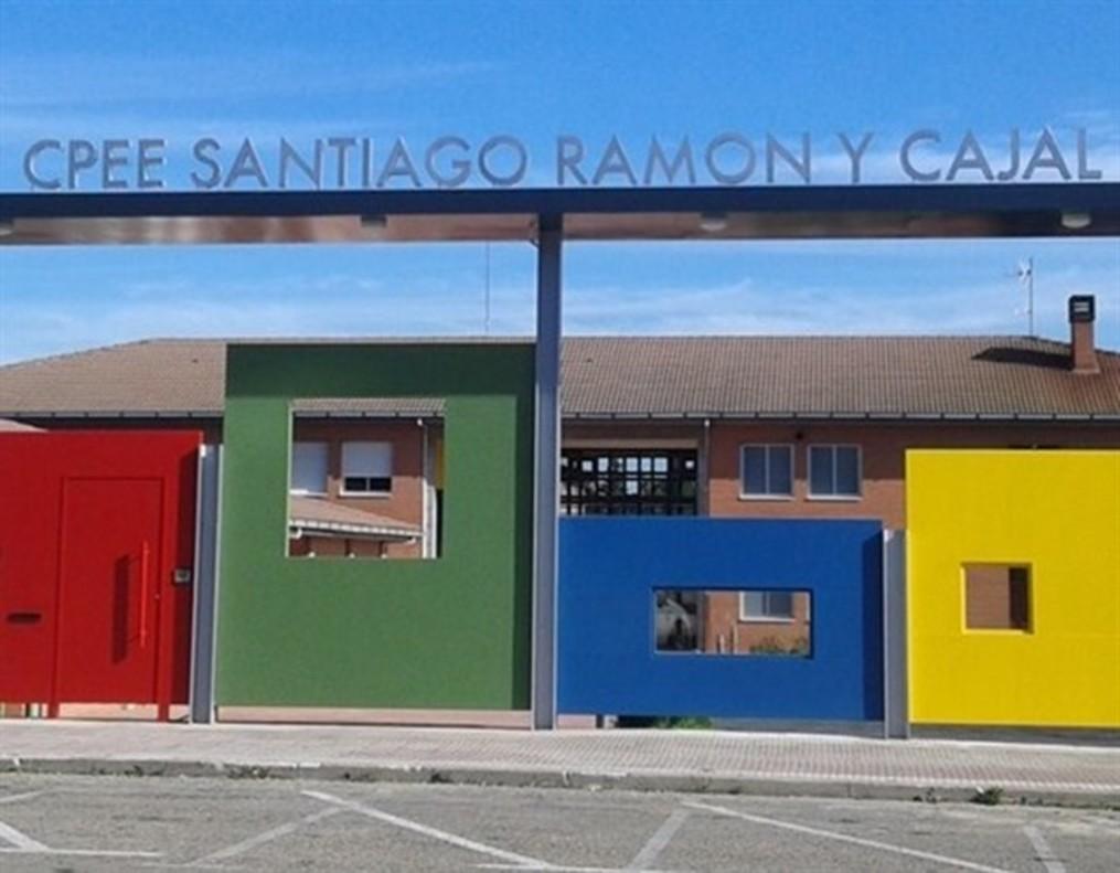 CPEE Santiago Ramón y Cajal, el colegio de educación especial asaltado.