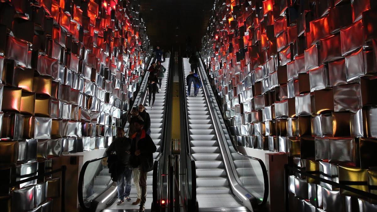 Comença la Festa de Llum al Poblenou de Barcelona