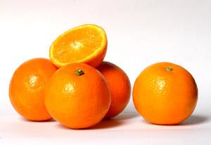Las naranjas son ricas en vitamina C.