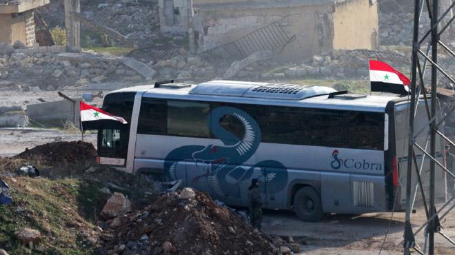 20.000 personas han sido evacuadas ya de Alepo