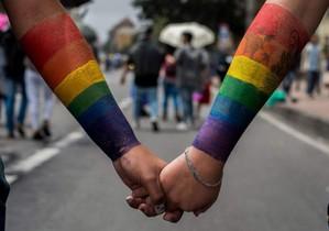 Celebración del Día Internacional contra la LGTBIfobia, el año pasado
