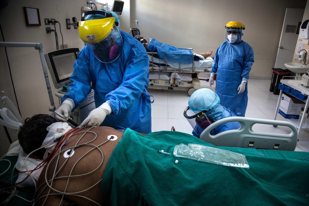 Los pacientes hospitalizados descendieron por segunda jornada consecutiva.