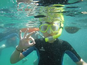 'Ecosnorkel': aprenent sota el mar