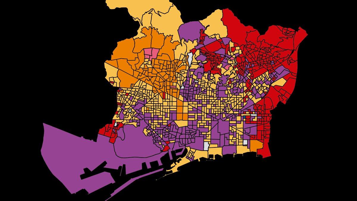 ¿Qué votó tu vecino de Barcelona en las elecciones municipales 2019?
