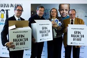 De izquierda a derecha Marc Simón,Joan Roca,Marta Peris y Frederic Gómez Pardo .