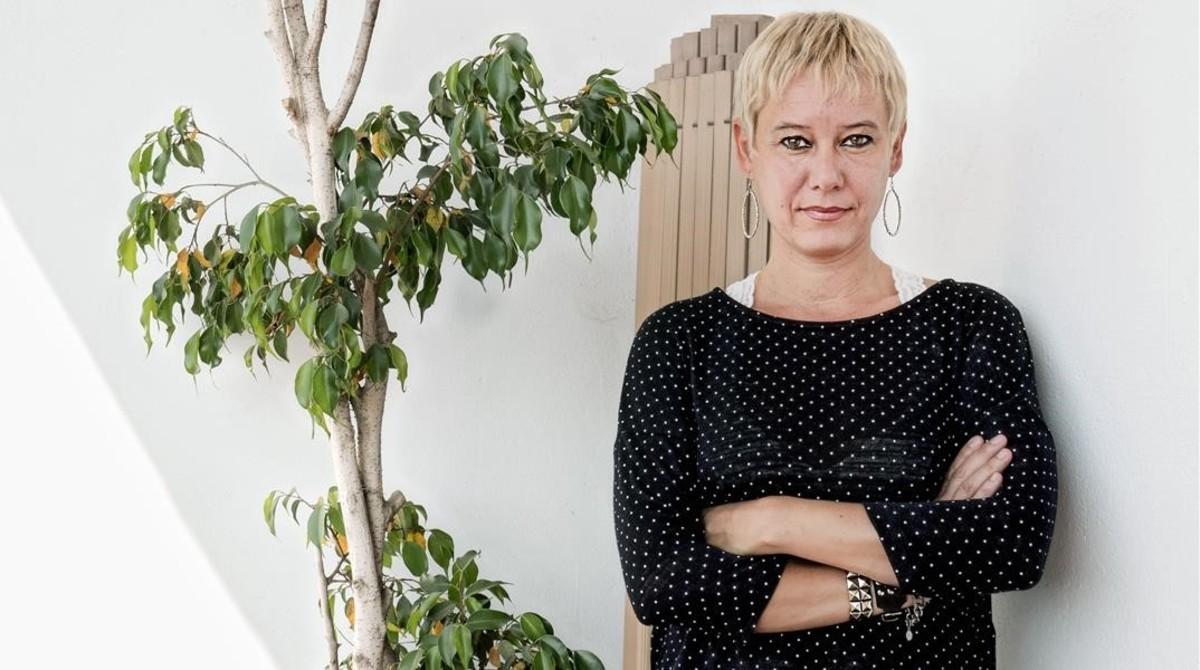 La escritora Silvana Vogt.
