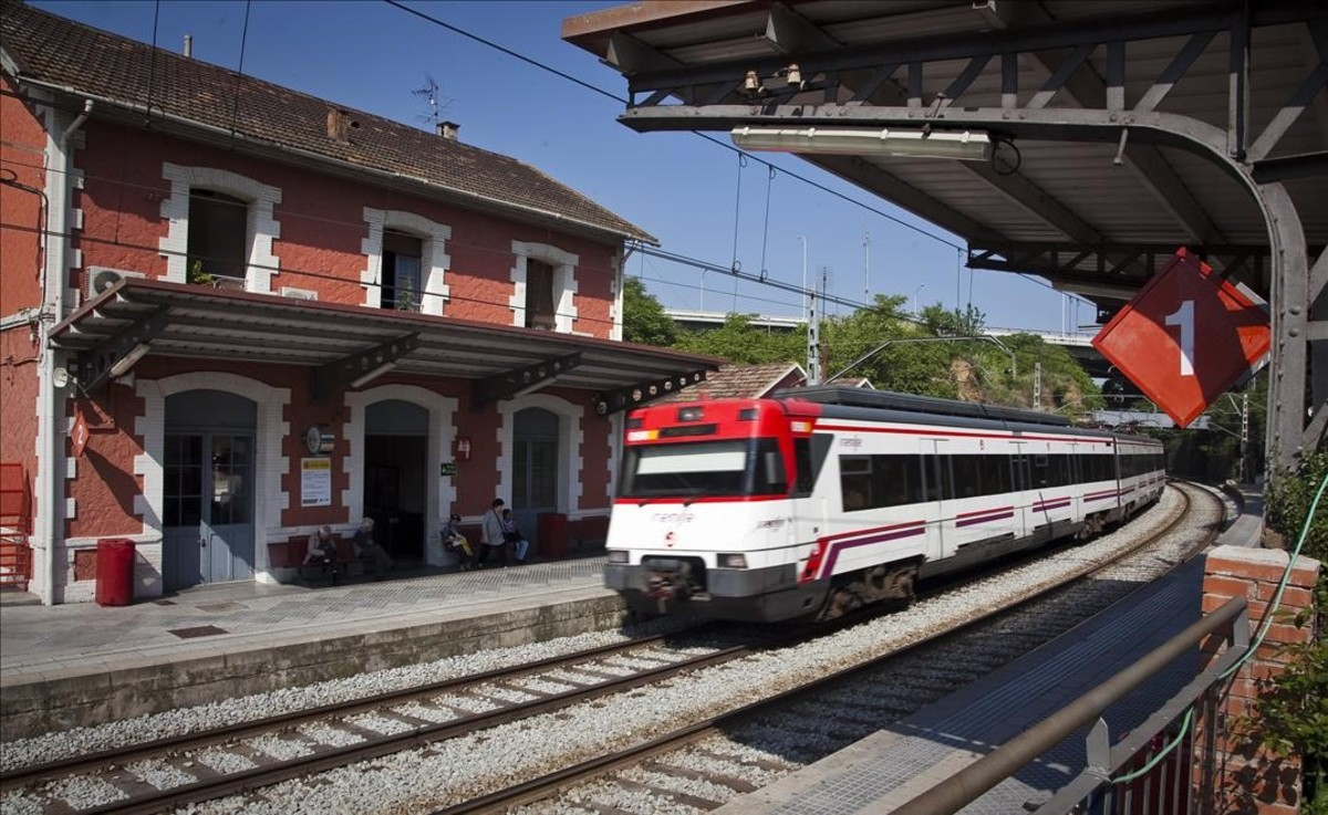 Estación de Renfe de Montcada i Reixac.