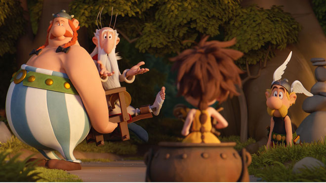 Tráiler de 'Asterix: el secreto de la poción mágica' (2018)