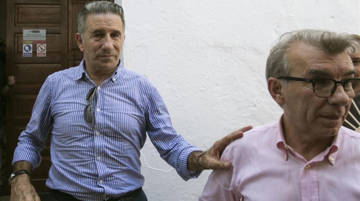 El expiloto Jorge Martínez, 'Aspar'.