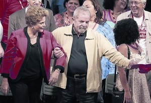 Lula da Silva acompaña a Dilma Rouseff en una foto de archivo.