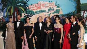 La familia monegasca, en el Baile de la Rosa del año pasado.