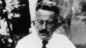 El filósofo Walter Benjamin en Ibiza en 1932.