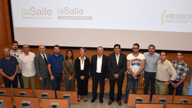 Foto de familia de la presentación de eDelivery Accelerator.