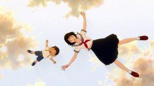 Un fotograma de 'Mirai, mi hermana pequeña', de Mamoru Hosoda