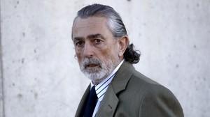 Francisco Correa, a su llegada a la Audiencia Nacional para acudir al juicio del caso Gürtel.