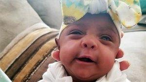 Esta es Saybie: la bebé más pequeña del mundo