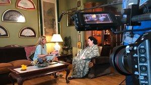 Mari Cruz Soriano entrevista a Montserrat Caballé, en el nuevo programa de TVE Gigantes de La 2.