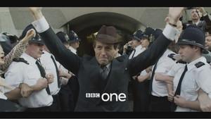 Hugh Grant en la serie A Very English Scandal (Un escándalo muy inglés) de la BBC.