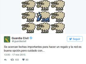 "La Guardia Civil se disculpa con Kukuxumusu por ""robar"" un dibujo suyo"