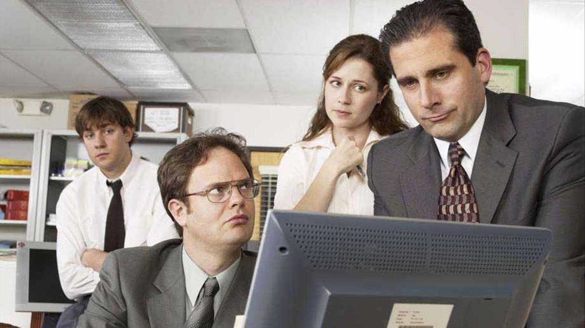 Fotograma de la serie 'The Office'.