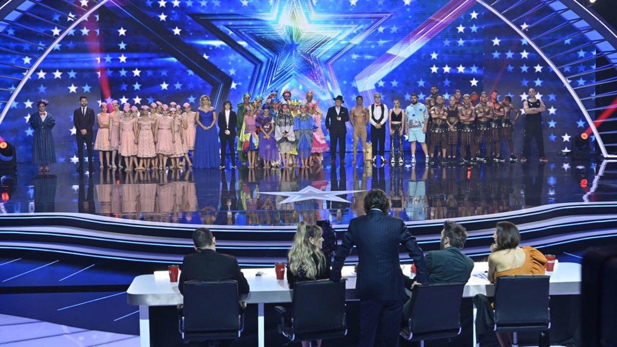 Imagen de la primera semifinal en directo de 'Got Talent España 5'.