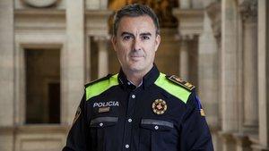 Pedro Velázquez, nuevo jefe de la Guardia Urbana de Barcelona.