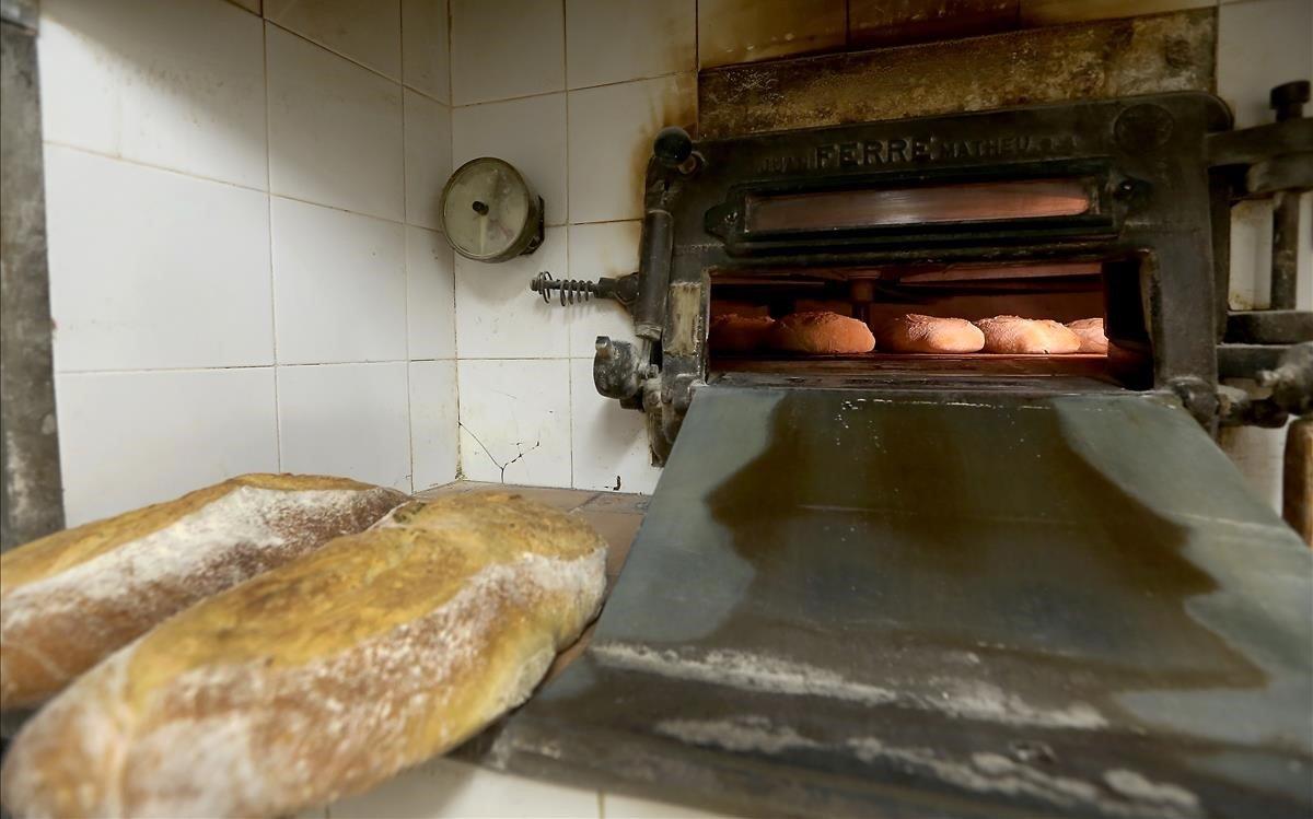 Un horno de pan, en una foto de archivo.