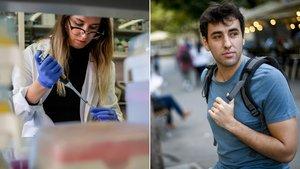 Dos jóvenes narran con su testimonio como ven y viven el mercado laboral hoy en día.