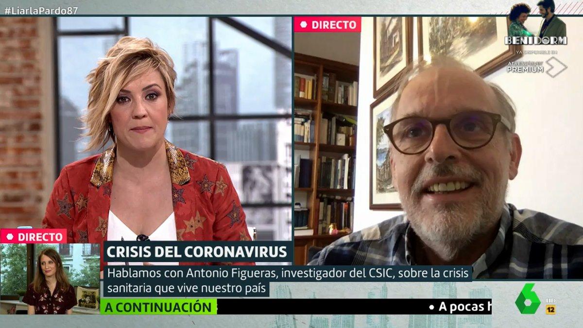 """Un científico del CSIC defiende a Fernando Simón: """"Lo que está pasando su familia no lo paga nadie"""""""