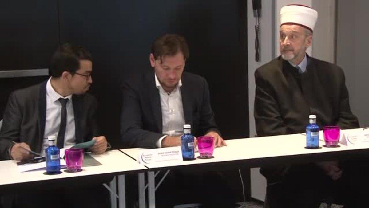 Reunión del European Muslim Forum en Barcelona para la construcción de una mezquita.